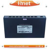 Full-Duplex & Half-Duplex Communication 8 port 10/100Mbps PoE Router