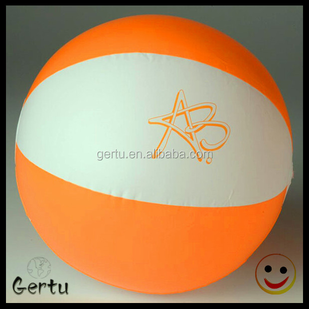 6 panels 30cm inflatable beach ball in bulk