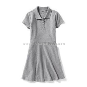 Girl's school uniform dress