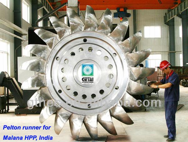 Hydraulic Power Station Pelton Turbine Wheel Runner Buy