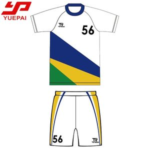 Full over sublimation digital printing soccer jersey / custom team name soccer uniform / jersey football
