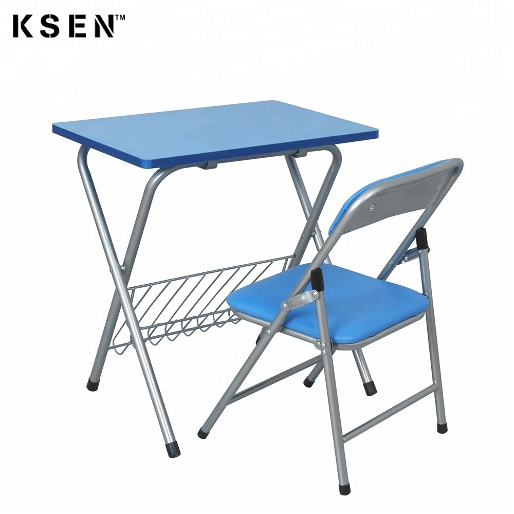 Children Folding Study Table And Chair 7212