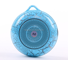 Bluetooth small speaker phone outdoor portable audio subwoofer speaker colorful card speaker radio