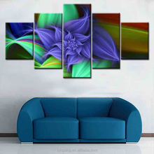 2017 yiwu direct sale Wall art with light up canvas paintings stretched and framed art work wholesale famous picture led for hom