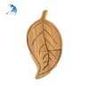 High Grade Natural Bulk Usb Flash Drive Leaf Shape Wood Customrized Company Logo