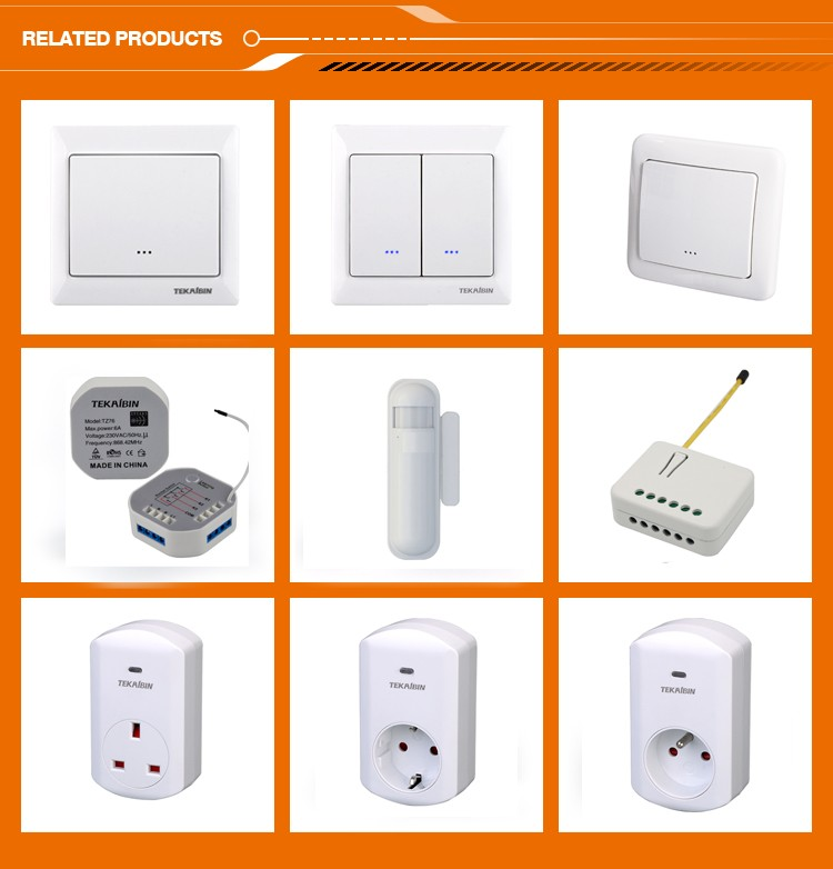 tekaibin] Hot New Tz55d Z-wave Dimmer Dual Wall Switch 230v Led ...