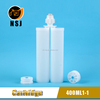 400ML 1:1 Un-reused Glue Container / empty grease cartridge