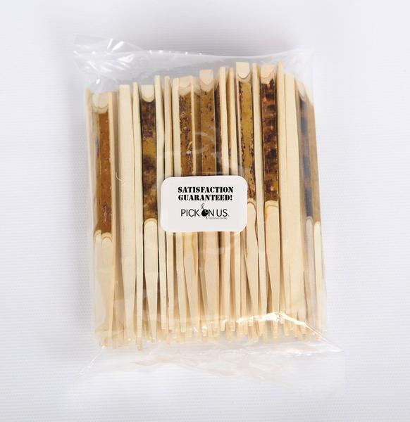 Disposable Bamboo Black Willow Sticks