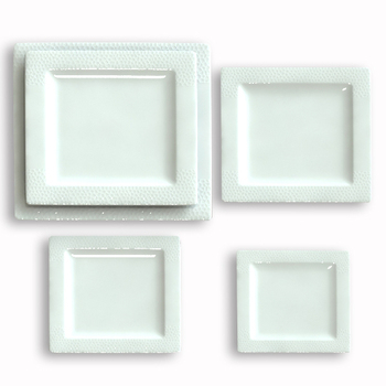 made in China cheap white square dinner plates set for restaurant  sc 1 st  Alibaba & Made In China Cheap White Square Dinner Plates Set For Restaurant ...