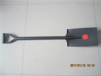 All Steel Handle Square Spade Shovel S512 With Y Grip