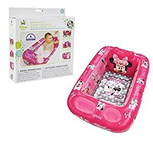 Disney Inflatable Safety Bathtub, Minnie Mouse by Disney