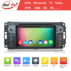 800*480 Resolution 2 Din Android 4.4 Car Radio For Jeep Grand Cherokee With DVR Rear View Camera Wifi Bluetooth