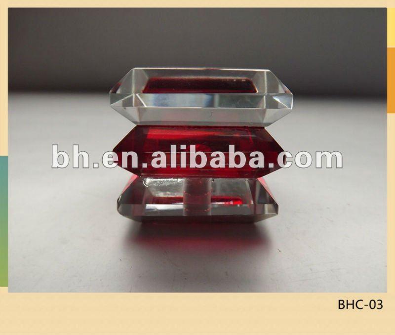 Cristal de vidrio vidrio remates barra de la cortina barra - Remate de cortinas ...