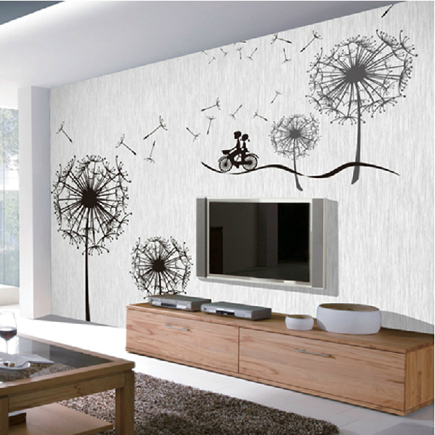 Large mural modern wallpaper photo or paint print wall ...