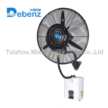 Debenz brand ceiling fan wall fan with humidifier wall mounted debenz brand ceiling fan wall fan with humidifier wall mounted misting fan aloadofball Gallery