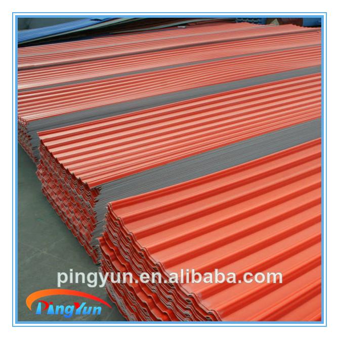 Resistenza Alla Corrosione Upvc Roofing Foglio Plastica Pvc Tegola