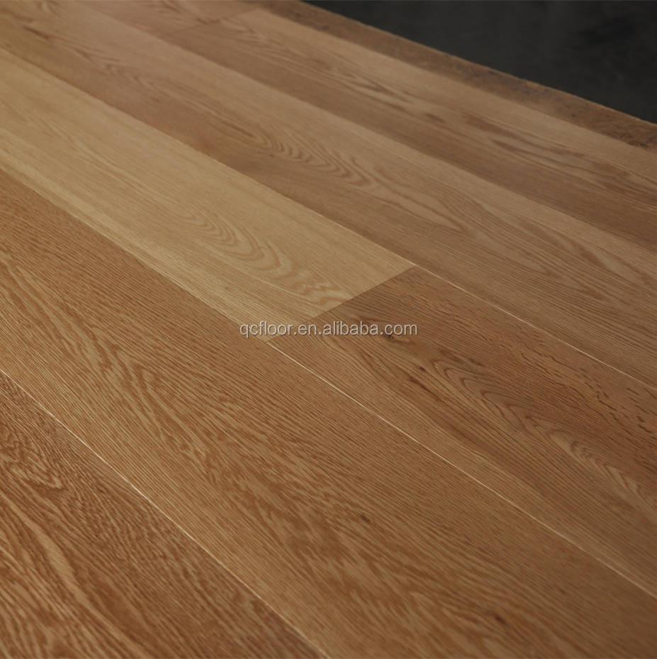 Light Color Oak Engineered Flooring / 3-ply Wooden Boards