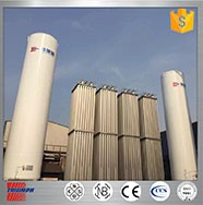 Best Selling vertical customizable cryogenic liquid nitrogen storage tank price