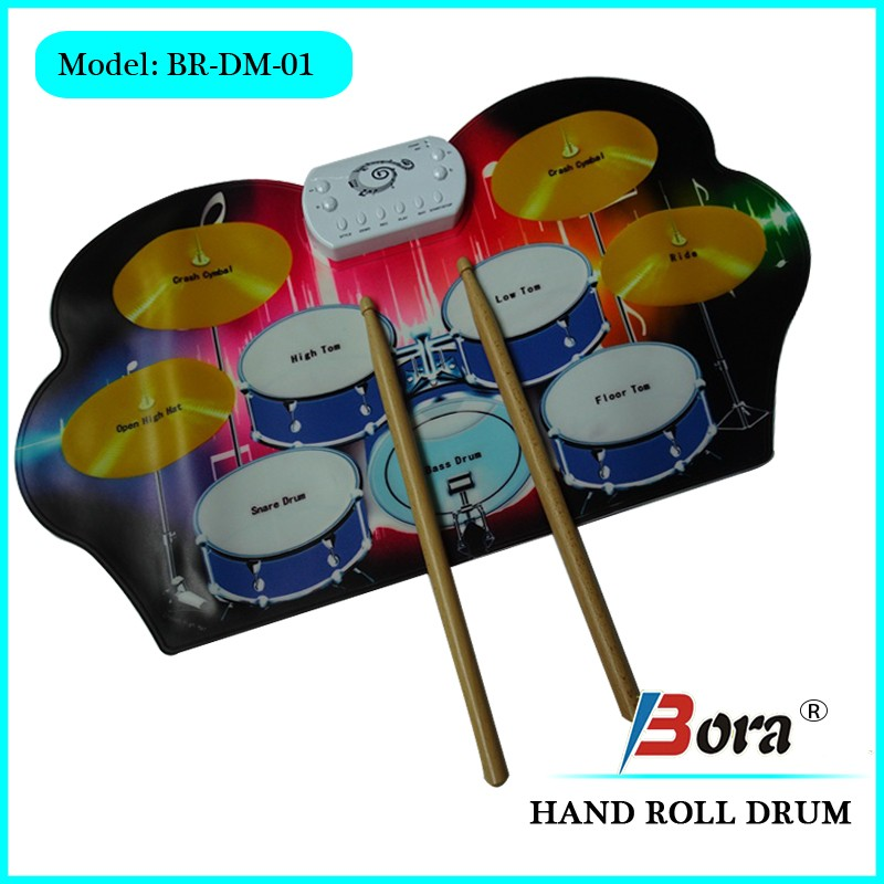 Music instruments drum set electronic drum