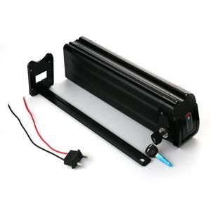 36V 250W Shimano Steps Electric Bike Kit 36V 10 4Ah Lithium Battery 10S4P  18650 Li Ion Silver Fish Ebike Battery