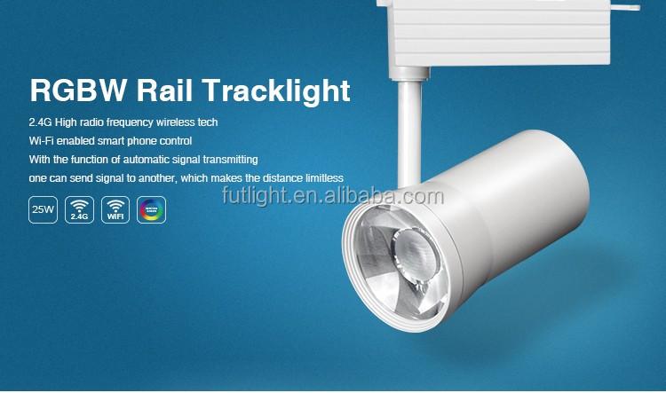20w Rgb Led Tracklight Mi Light Smart Wireless Led Track Light ...