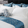 Combed cotton hilton hotel bedding sheet set/comforter/bed cover/quilt cover