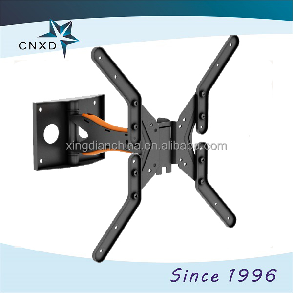 television wall mounting brackets, Black Ultra Close Slim line Mounted LCD or Plasma Television Wall Bracket