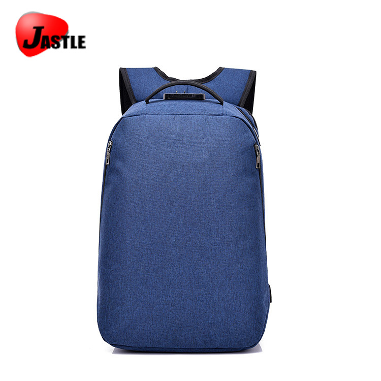 Custom Youth Fashion Multifunctional USB Earphone Oxygen Anti-theft Backpack Bag Logo