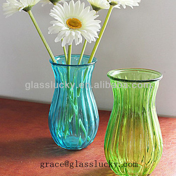 Cheap Glass Flower Vases Painting Designs Wholesale Buy Flower