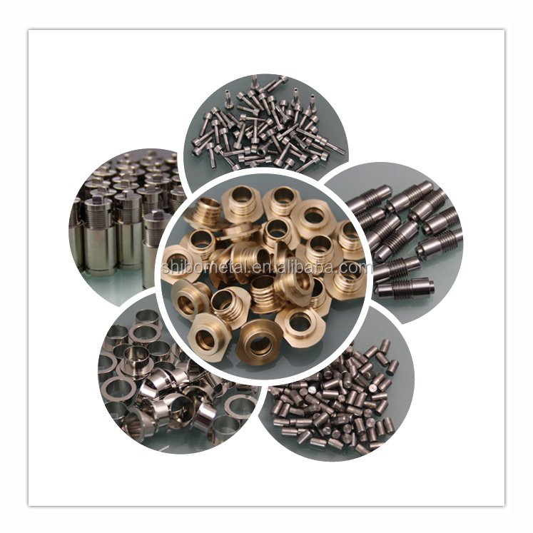 High precision cnc machined aluminium and stainless steel parts