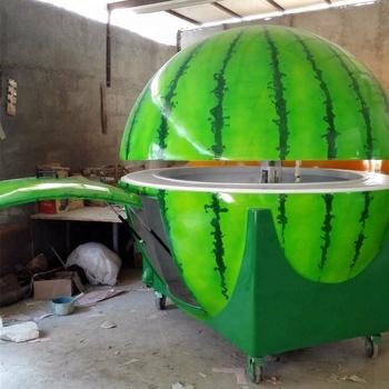 Mobile Coffee Cart For Sale Fiberglass Kiosk/food Vending Truck/mall Kiosk  Design - Buy Mobile Food Kiosk,Mall Kiosk Design Orange Kiosk,Mall Kiosk