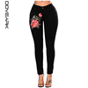 High Quality Ladies Stretch Embroidery Jeans