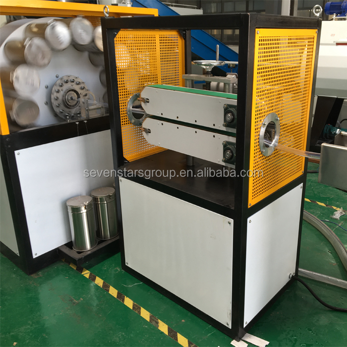 high temperature flexible pvc raw material gas hose pipe machine