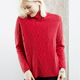 2019 New Arrival Computer Knitted Free Shipping Turtleneck Women Pattern 100% Cashmere Sweater