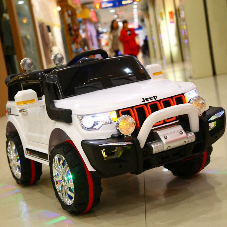 Fashional JEEP model electric car for kids to drive electric ride on car with 12V7AH battery