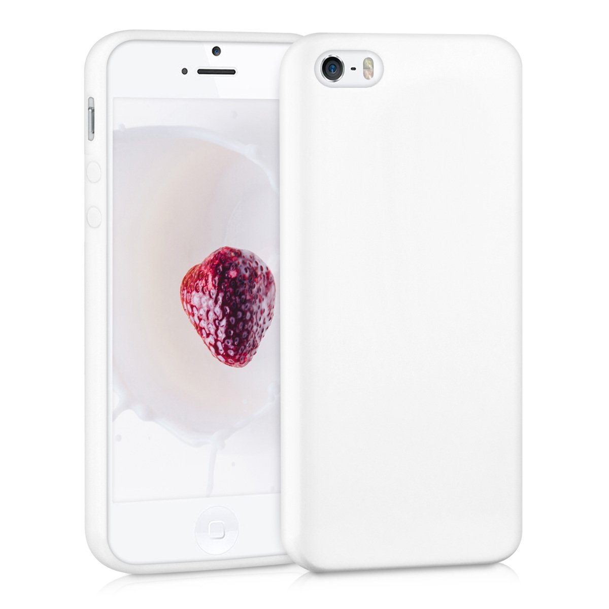 c717274a5e3 kwmobile TPU Silicone Case for Apple iPhone SE   5   5S - Soft Flexible  Shock