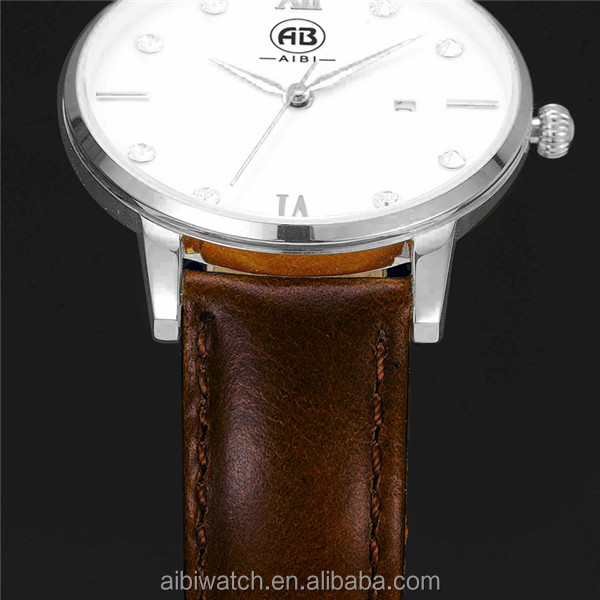 AIBI Slim Stone Lady Watch / Fashion Watches for Women / Ladies 2017