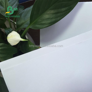 Wood Pulp Scroll Writing Uncoated paper White Bond Coated Woodfree Paper in gsm