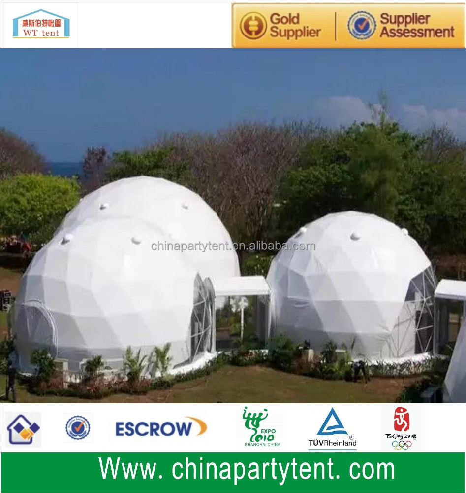 Hot Sale Geodesic Dome Tent 8 Metre With Air Conditioner View Frame Tenda Fiber Untuk Wt Product Details From Suzhou Co Ltd On Alibabacom