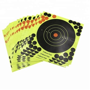 20*20CM Reflective Adhesive Splatter Reactive Shooting Targets