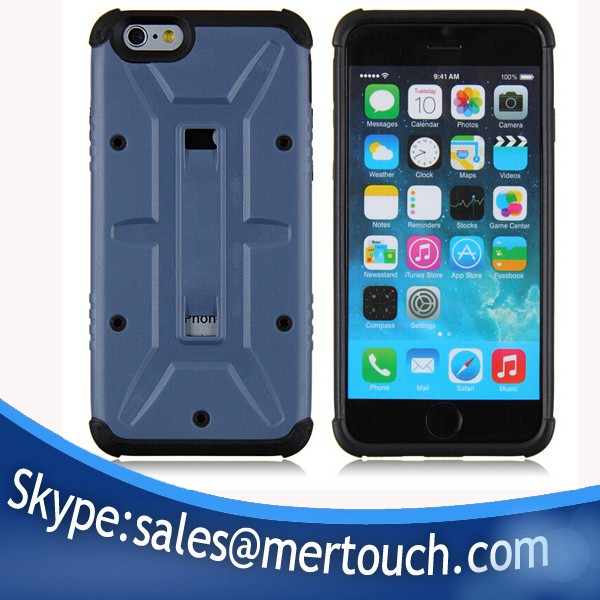 c3872ae51b Hot selling defender UAGGing mobile phone case for iphone 6 hard PC +Soft  TPU back cover