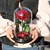 Preserved rose in glass eternity flower same as  Beauty and the beast rose in glass dome
