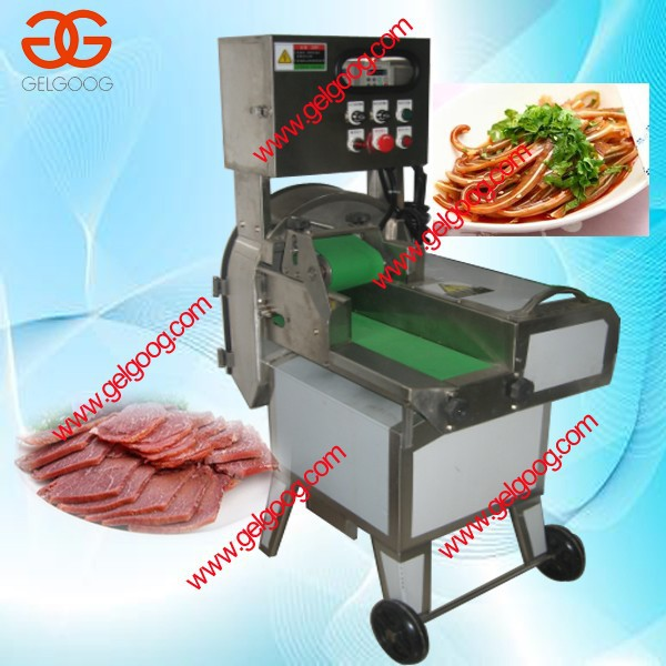 Cooked Meat Slicing Machine For Beef/Pork/Mutton/Sausage