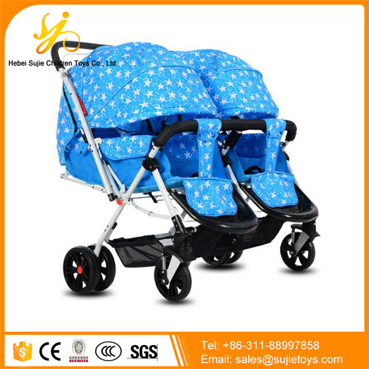 China factory baby stroller for twins / new model baby carriage buggy / cheap twin strollers