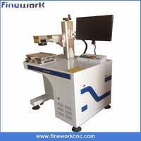 Portable cheap co2 fiber laser marking machine price for business