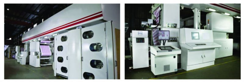 Wide Web Flexographic Printing Press