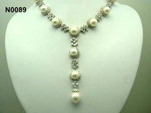 fashion collar necklace with pearls