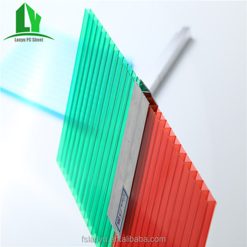 Low Price Colored Thickness 20mm Polycarbonate Roofing Sheet - Buy ...