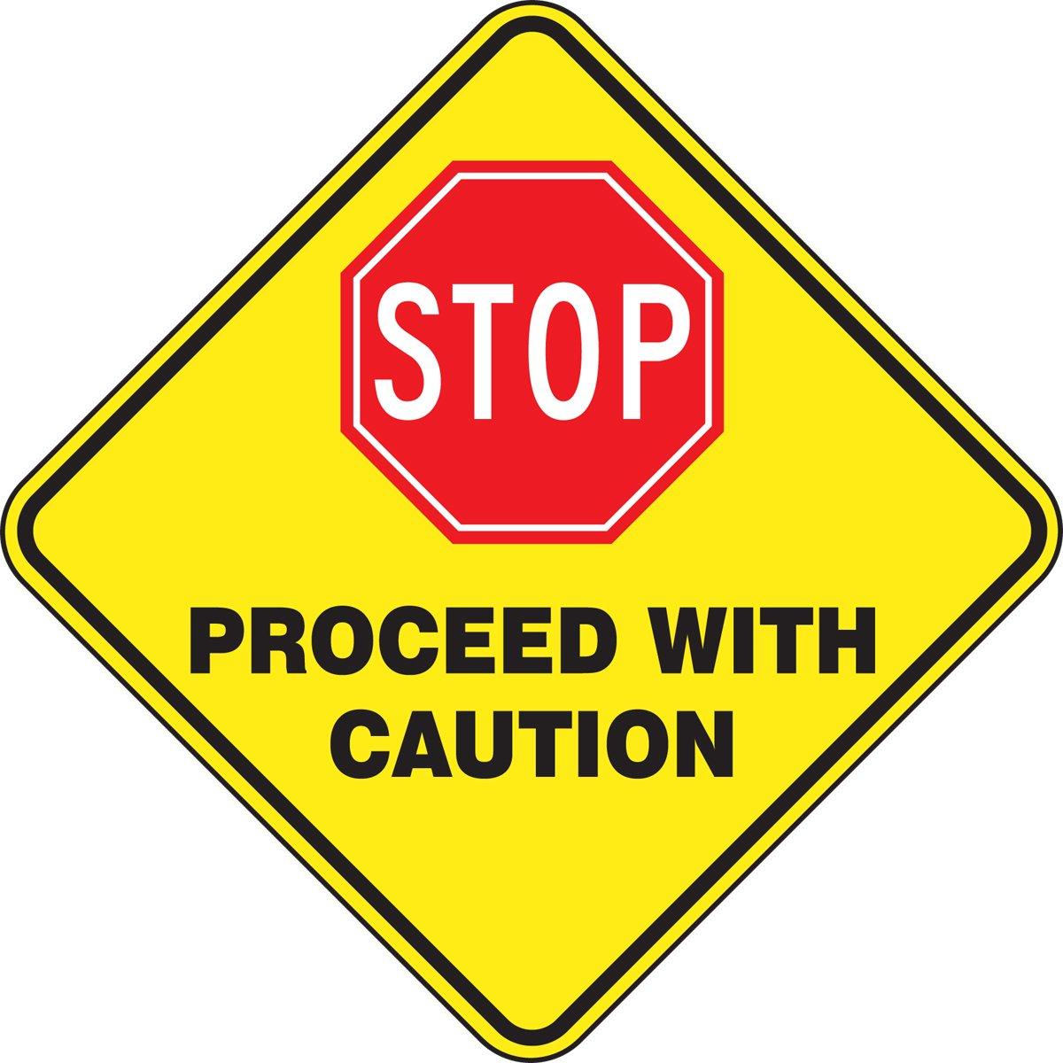 Buy Accuform Signs Mfs727 Slip Gard Adhesive Vinyl Round