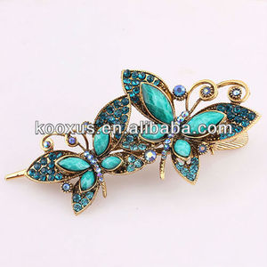 Antique butterfly hair ornament/hair accessories